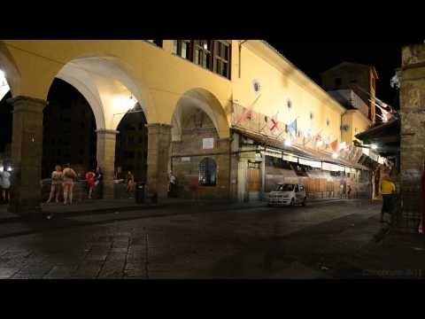 Florence Time Lapse Ponte Vecchio