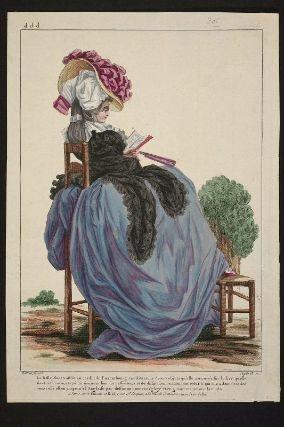 Gallerie des Modes et Costumes Français. 48e Cahier de Costumes Français, 42e Suite d'Habillemens à la mode en 1785.  ddd.306