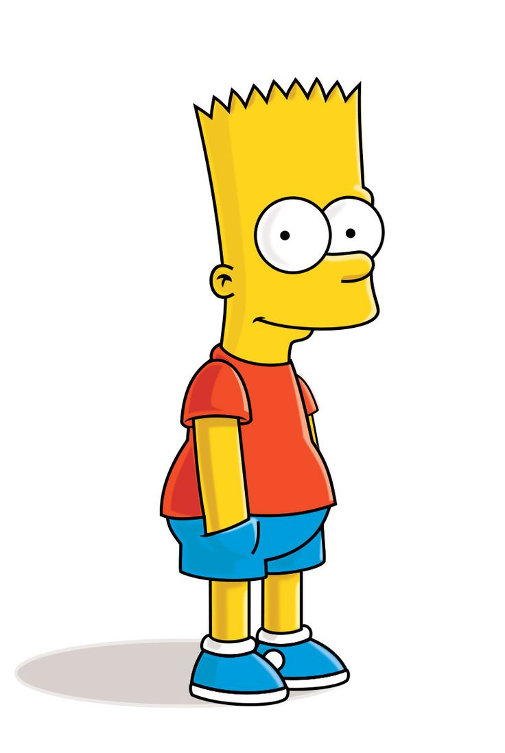 Cartoon Characters Simpsons : Best bart simpson images on pinterest
