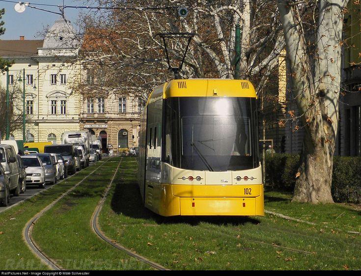 102 Szeged Transport Limited (SzKT Kft.) PESA Swing at Szeged, Hungary by Máté Szilveszter