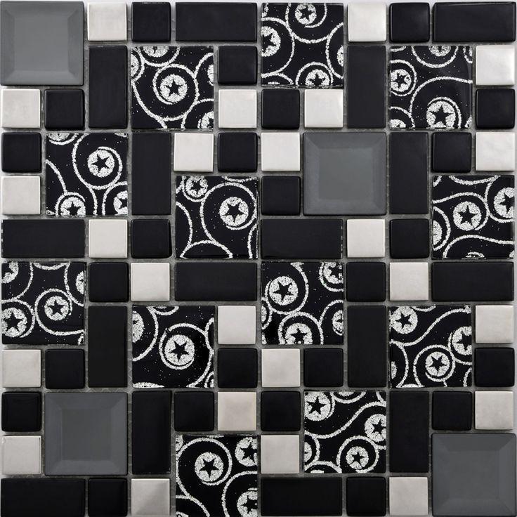 Oltre 20 migliori idee su mosaico di piastrelle camino su - Piastrelle per camino ...