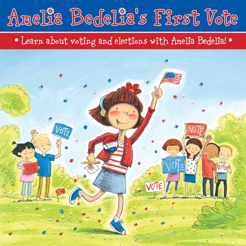 Teach your #kids about #elections and #voting with #activities from Amelia Bedelia