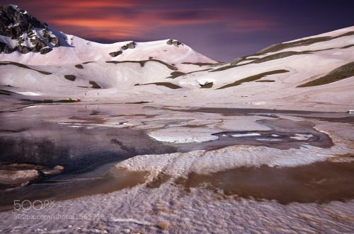 www.hostelmeteora.com  Verliga by ntinoslagos 500px Snow Water People Lake Colours Sky Mountain Mountains Greece Ice Trikala Springtime Sping Lak