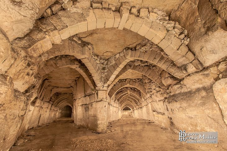 The abandoned underground limestone quarries of Conflans-Sainte-Honorine