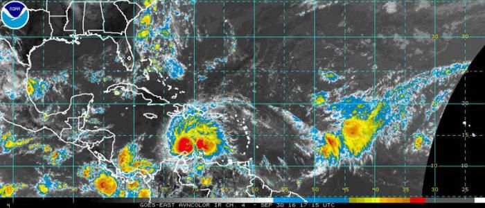 Huracán Matthew alcanza categoría tres en la escala Saffir-Simpson - Granma Internacional