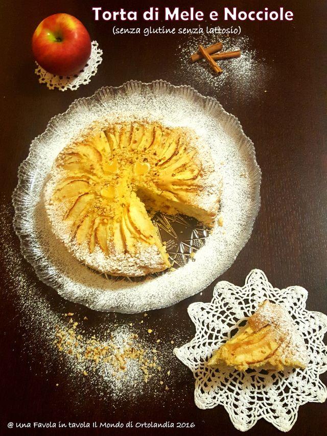 Torta di mele e nocciole senza glutine senza lattosio: #intolleranzesenzafrontiere