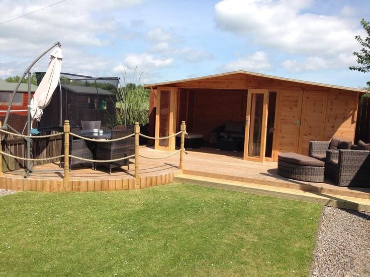 Details About 20x10 THE CHESTER SUMMER HOUSE/ SHED COMBI