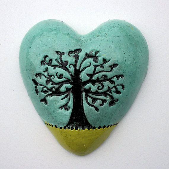 Tree Heart by TheMonsterCompany on Etsy
