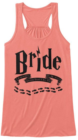Omg we need these amanda... but ours say bridesmaid's and yours  says bride! Haha - Bride - Solemnly Swear...Up To No Good
