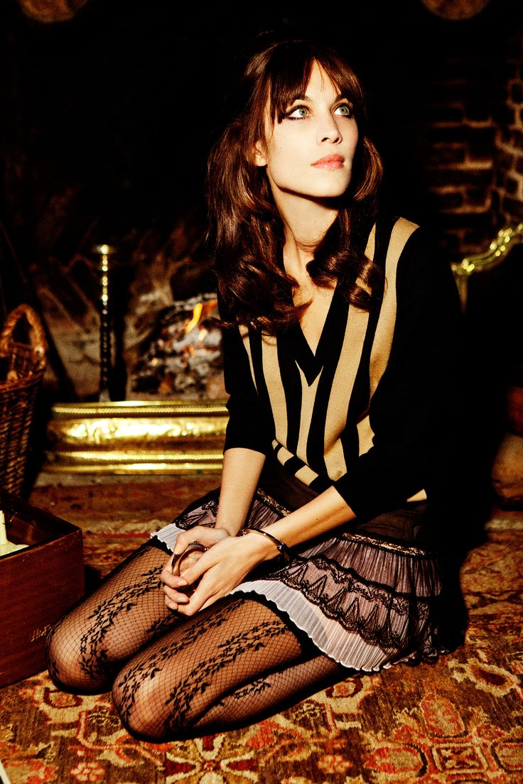 Alexa Chung | by Ellen von Unwerth |Vogue Italy