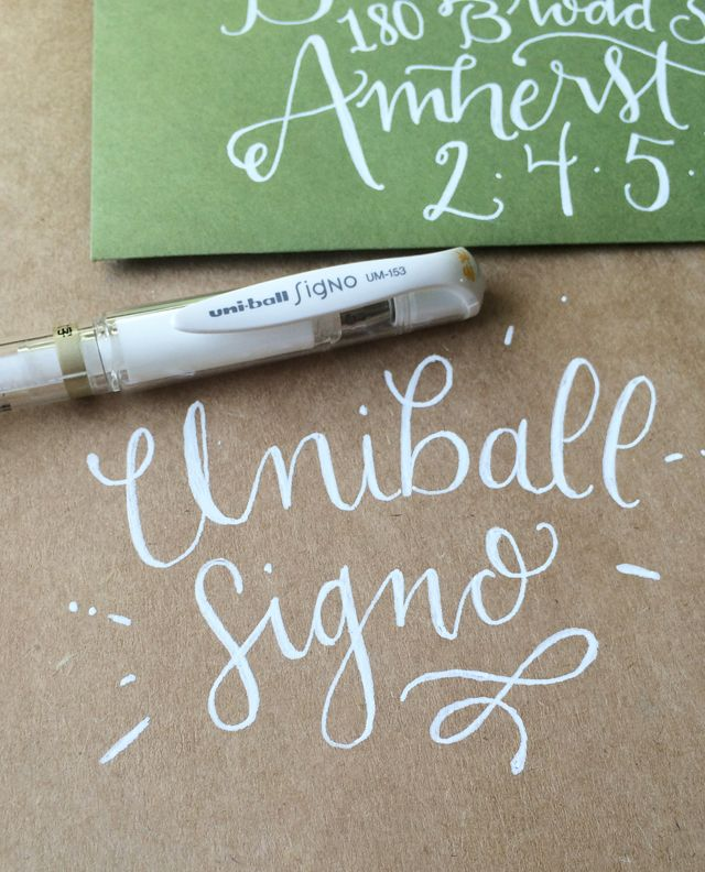 favorite lettering supplies with Megan Wells
