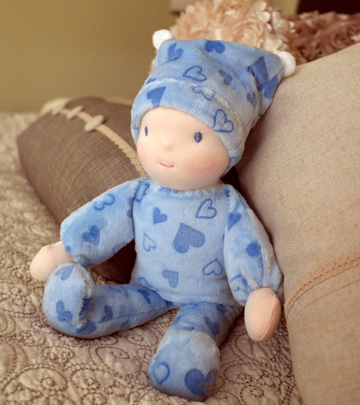 Lovely Babies First Waldorf Doll by Jemilynndolls Ready To Ship via Etsy