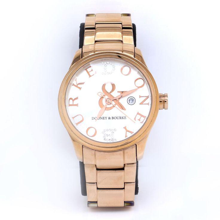 qvc QVC SOLD OUT Dooney & Bourke Silver Tone Hartford Link Bracelet Watch MR067 #DooneyBourke #Fashion