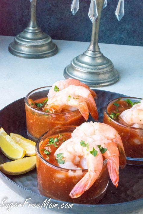 Quick Low Carb Sugar-Free Shrimp Cocktail Sauce
