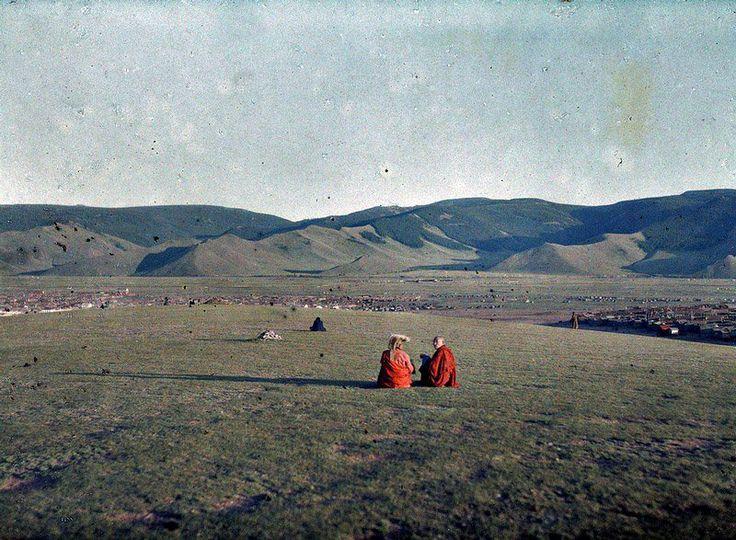 Mongolian capital – Urga (1913)
