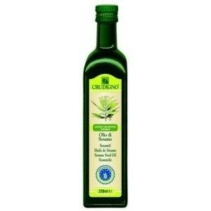 Ulei bio din seminte de susan. Uleiul de susan este obtinut, exclusiv, prin procedee fizice: o singura presare si filtrare. Va recomandam utilizarea uleiului de susan deoarece este bogat in fosfolipizi si lecitina si are un continut ridicat de calciu. Ideal pentru condimentarea pastelor si legumelor.