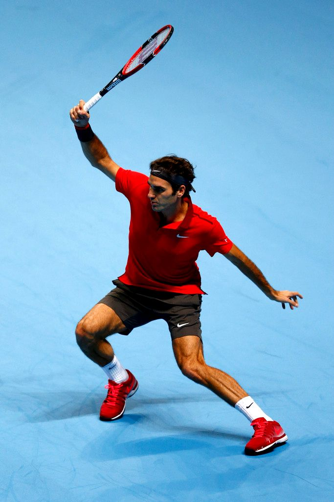 #Federer at the 2014 Barclays ATP World Tour Finals
