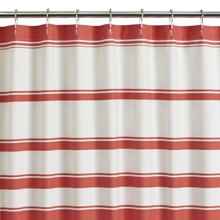 coral shower curtain hooks. Optical stripes go from thick to thin and back again in fresh coral  crisp white Coral Shower CurtainsShower Curtain RingsKid Best 25 shower curtains ideas on Pinterest Teal kid
