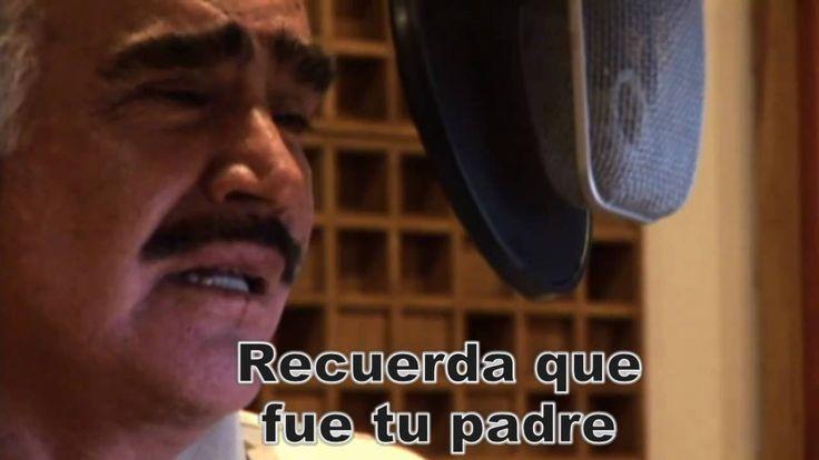 """Vicente Fernández - """"El hombre que mas te amó"""" HD - Hermosa canción del nuevo álbum de Vicente Fernández, dedicada a todos los padres que aman profundamente a sus hijos y con la que muchos hijos nos sentimos identificados."""
