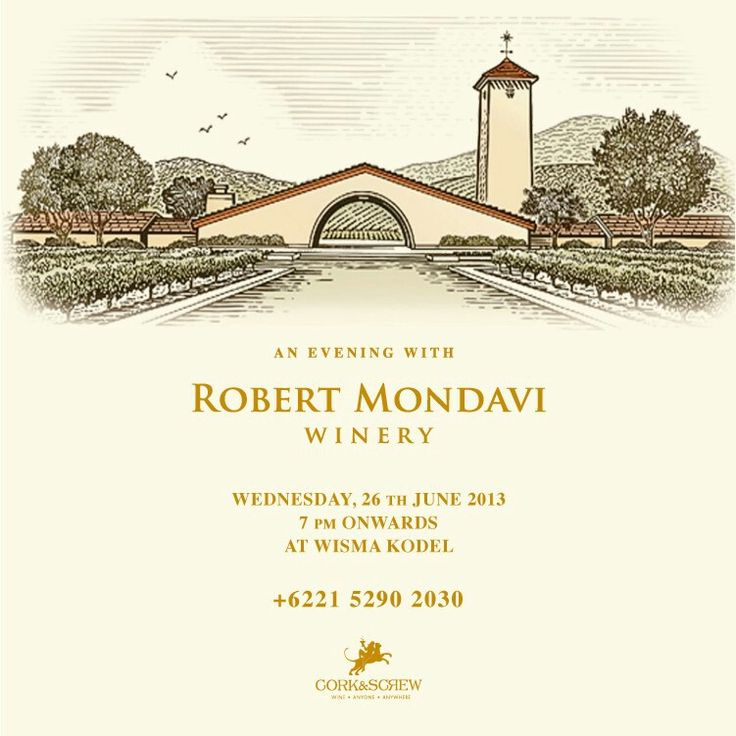 Join us for a night of tasting & discovery, featuring the premium range of Robert Mondavi wines. Mr. Mark de Vere, Master of Wine from Robert Mondavi, will be joining us to share his passion & knowledge about the wines.   ALSO Guest Chef ASIER ARROYO will prepare a selection of delectable grills. For reservations, please call +6221.5290.2030