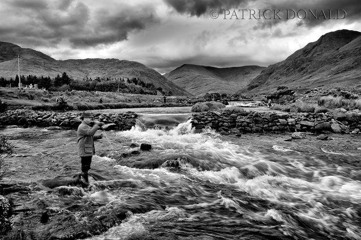 Delphi River Fishing, Co. Mayo, Ireland