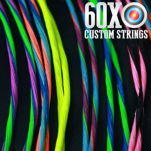 60XCustomStrings.com - 60X BCY 452X Custom Compound Bow String