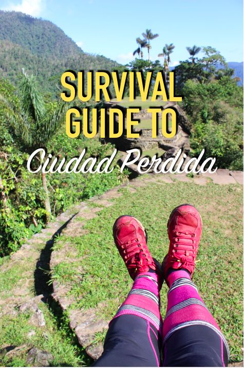 Tips, packing list, and day-to-day guide for Ciudad Perdida (the Lost Trek) found within Parque Tayrona in the Sierra Nevadas.  #colombia #ciudadperdida #losttrek