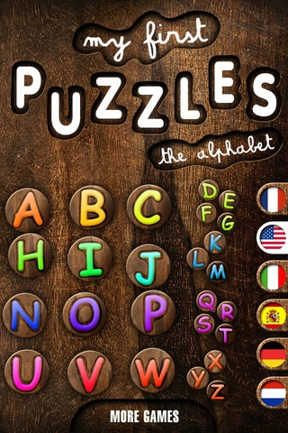 My First Puzzles: Alphabet - an Educational Puzzle Game for Kids for Learning Letter Shapes ($0.00) Kids from 2 to 6 will have fun discovering and learning the alphabet while solving puzzles. Letters are pronounced when the puzzle is completed.