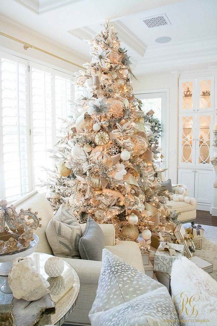 Looking for a Christmas Home Tour that will offer inspiration for nearly every room in your home? Welcome to Decor Gold Designs' Christmas Home Tour! #decoratingachristmastree