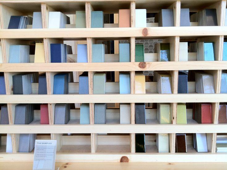 Heath Tile samples