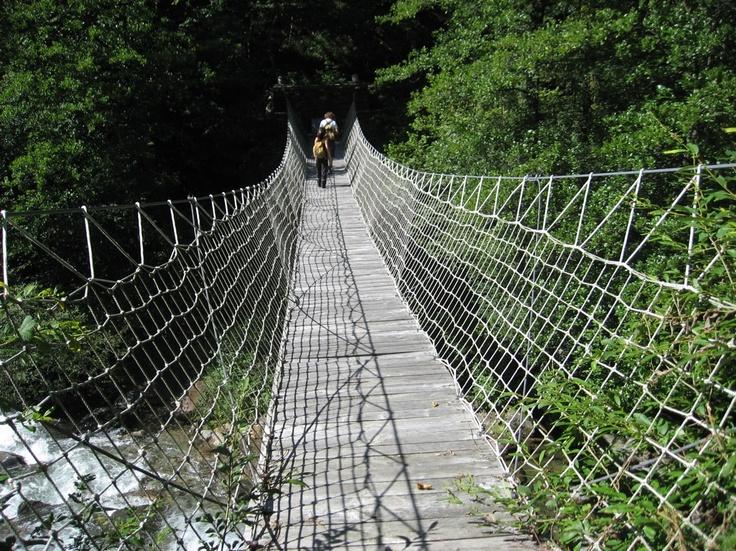 Ponte di corda - Val Cavargna