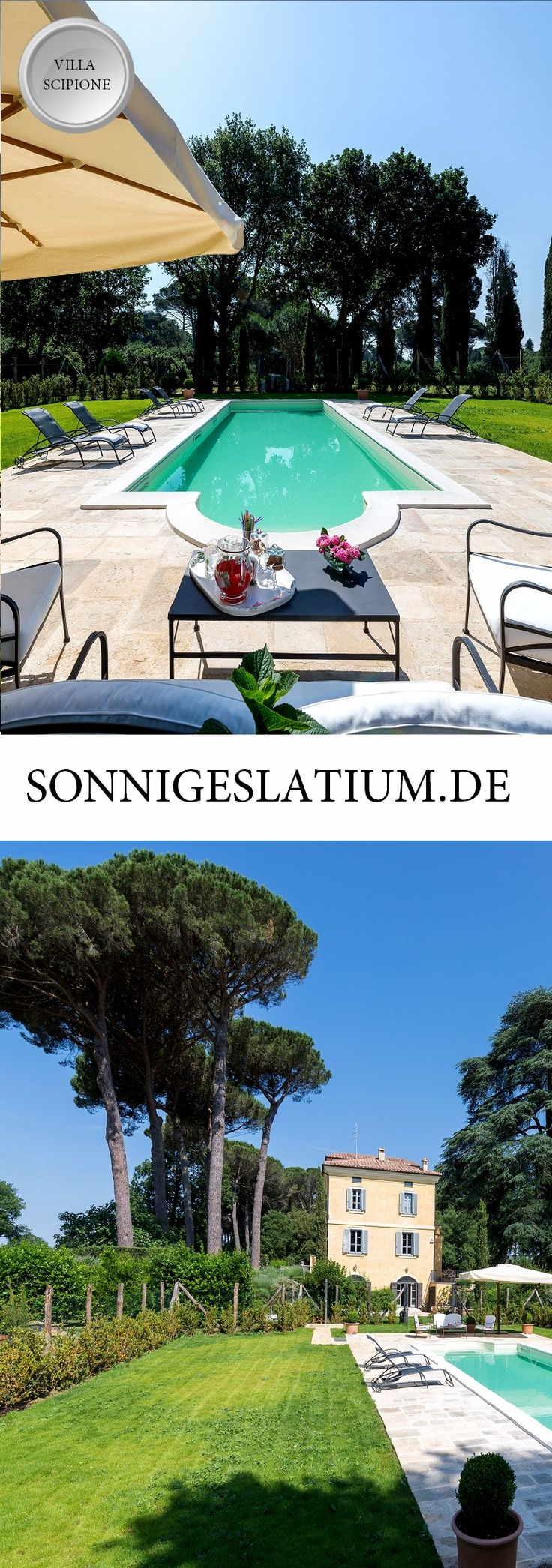 Villa Scipione   Italy, Rome, Latium, 4 bedrooms, Private Pool   Explore Rome with this historical manor house with its very own private park and a 20 hectare estate. #latiumluxusvilla #romeholidayrental #romeholidayhomes #sonnigeslatiumvillas #ferienhäuserlatiummitpool #ferienhäuserlatium #latiumferienhauser #latiumferienhausmitpool #sonnigeslatium #ferienwohnung #urlaub #latiumvillen #traumvillen #traumvillenlatium #villarentalinrome #romevillas