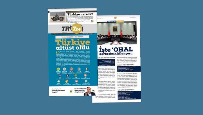Tr724 e-Gazete'nin ikinci sayısı dopdolu içeriği ile yayında
