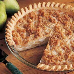 Creamy Pear Pie Recipe