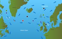 Interactive Map of the Atlantic Salmon's Life Cycle, Habitats, Threats and Dangers