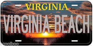 Virginia-Beach-Aluminum-Novelty-Car-License-Plate-P02