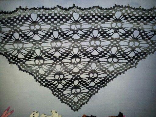 Doodshoofd sjaal