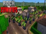 Be hurry to enter Rock Vs Zombies to fight against zombie  one of the most dangerous Minecraft creatures! Get quick if you don't want them to attack you back. Coming to the main screen gamers are all in charge of protecting Steve and others in the Minecraft land.