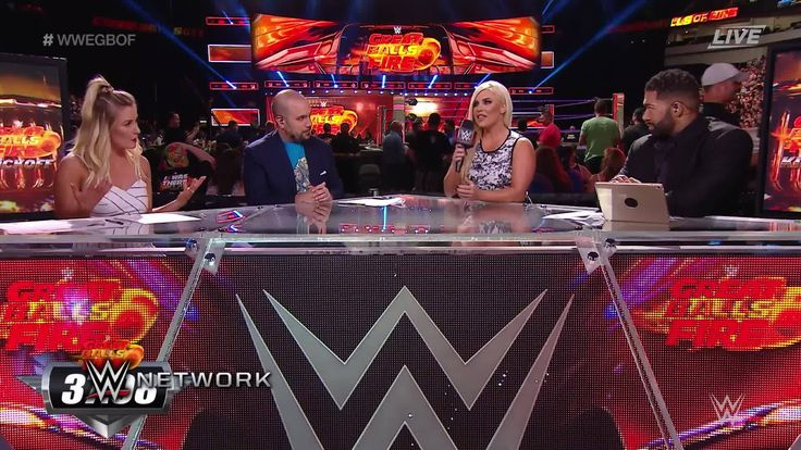Dana Brooke TELLS ON on the overt hostility between Sasha Banks and Alexa Bliss at the WWE Great Balls of Fire Kickoff on WWE Network.