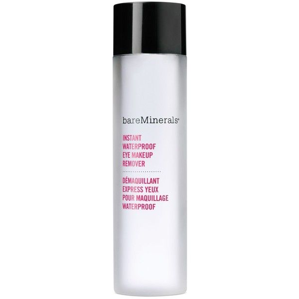 Bareminerals Instant Waterproof Eye Makeup Remover 18 Liked On Polyvore Featuring Beauty Products