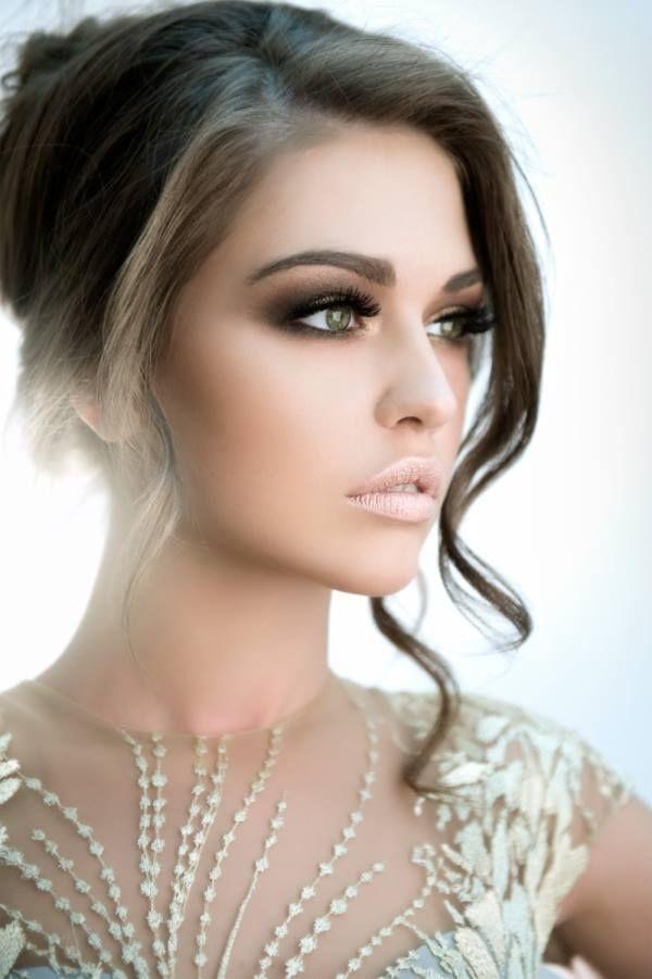 Full Face Makeup Wedding : Full-face makeup. Good for photoshoots Wedding Ideas ...