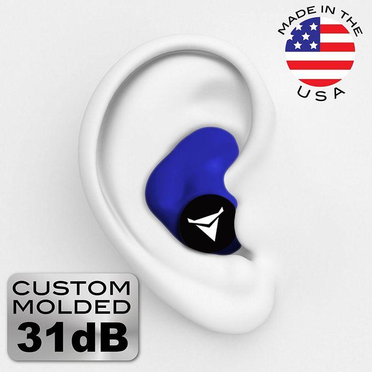 Decibullz - Custom Molded Earplugs 31dB Highest