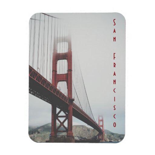 Golden Gate Bridge, San Francisco, California, USA souvenir magnet