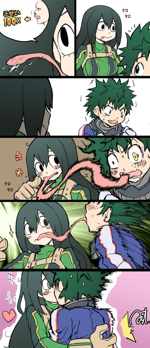 Frog Tongue - I don't ship these two though