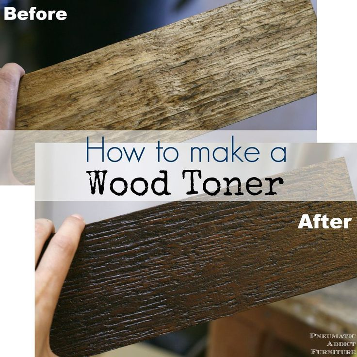 How and Why to Make a Wood Toner http://www.hometalk.com/7607973/how-and-why-to-make-a-wood-toner?se=fol_new-20150524&utm_medium=email&utm_source=fol_new&date=20150524