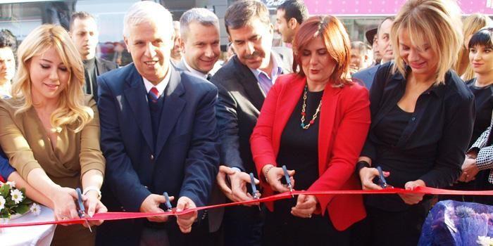 Söke'de Diamond Güzellik Salonu açıldı