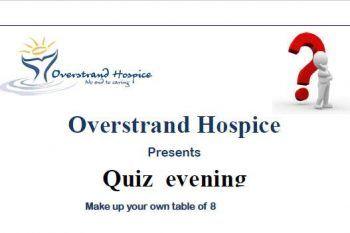 Quiz Evening Fund Raiser – Overstrand Hospice - http://ilovehermanus.co.za/event/quiz-evening-fund-raiser-overstrand-hospice/