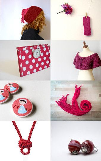 Red gifts by @Bynadialab on @etsy @etsyitaliateam @itsmartteam #smartteam #handmade #christmas #etsytreasury #shopoftheday --Pinned with TreasuryPin.com