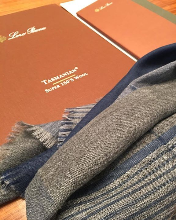 Discover the journey of #Tasmanian... in our Atelier! @loropianaofficial  #loropiana #davide #tasmanian #scarf #luxury #quality #top #best #cashmere #babycashmere