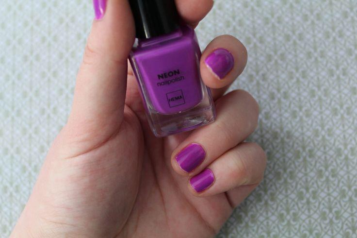 De nieuwe Neon-nagellak collectie (voor de zomer) van de Hema!